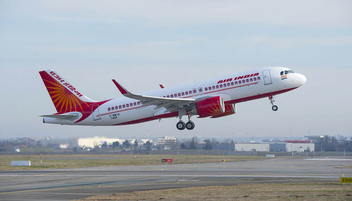 Air India air hostess falls from plane and sustained multiple injuries